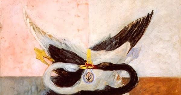 Svanen-by-Hilma-af-Klimt-1914